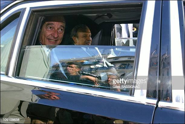Jacques Chirac Visits Algeria Bab El Oued District In Algiers On February 3Rd 2003 In Algiers Algeria Jacques Chirac And Abdelaziz Bouteflika In...