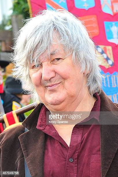 Jacques Higelin attends the Fete Des Vendanges 2014 at Vigne du Clos Montmartre on October 11 2014 in Paris France