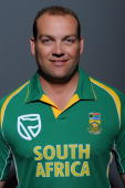 Jacques Kallis poses during the South African One Day International team portait session at Grayston Southern Sun on October 20 2008 in Johannesburg...