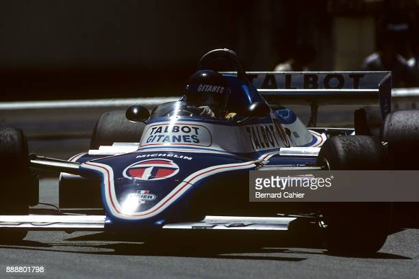 Jacques Laffite LigierMatra JS17 Grand Prix of Monaco Circuit de Monaco 31 May 1981