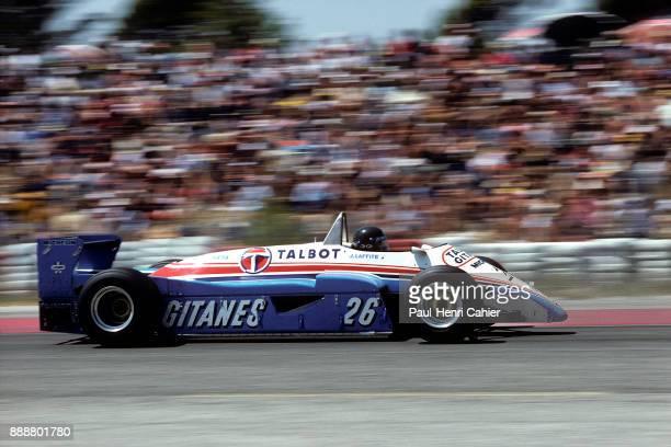 Jacques Laffite LigierMatra JS19 Grand Prix of France Circuit Paul Ricard 25 July 1982
