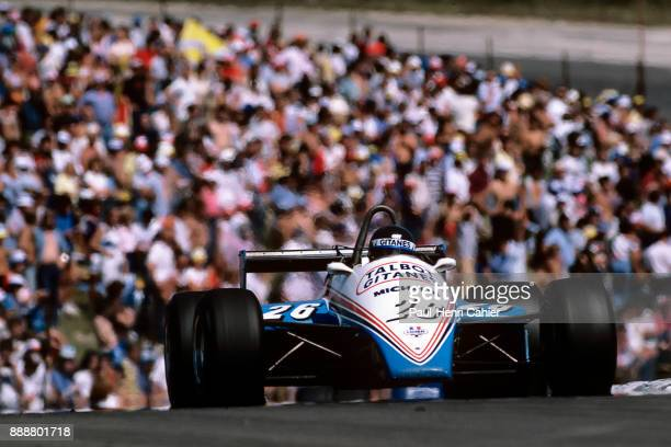 Jacques Laffite LigierMatra JS19 Grand Prix of Switzerland DijonPrenois 29 August 1982