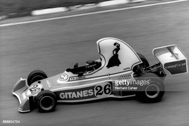 Jacques Laffite LigierMatra JS5 Grand Prix of Brazil Interlagos 25 January 1976