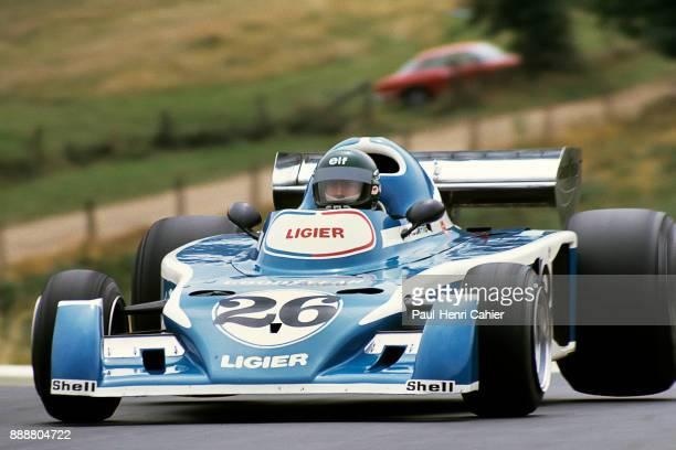 Jacques Laffite LigierMatra JS5 Grand Prix of Germany Nurburgring 01 August 1976