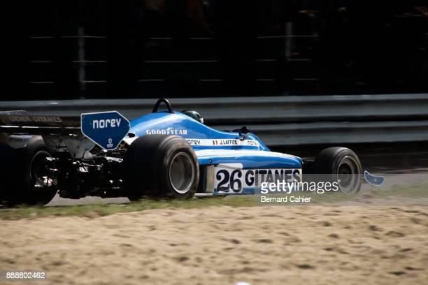 Jacques Laffite LigierMatra JS7 Grand Prix of Italy Autodromo Nazionale Monza 11 September 1977
