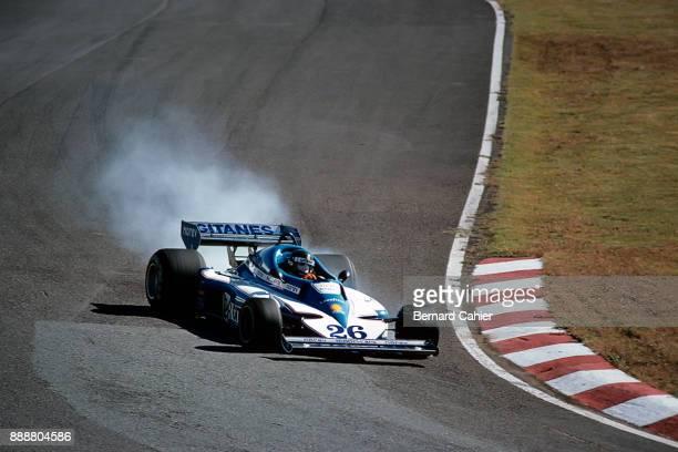 Jacques Laffite LigierMatra JS7 Grand Prix of Japan Fuji Speedway 23 October 1977