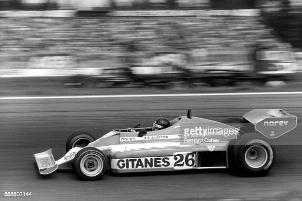 Jacques Laffite LigierMatra JS7 Grand Prix of Sweden Anderstorp Raceway 19 June 1977