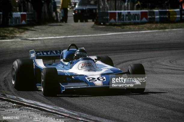 Jacques Laffite LigierMatra JS9 Grand Prix of the Netherlands Circuit Park Zandvoort 27 August 1978