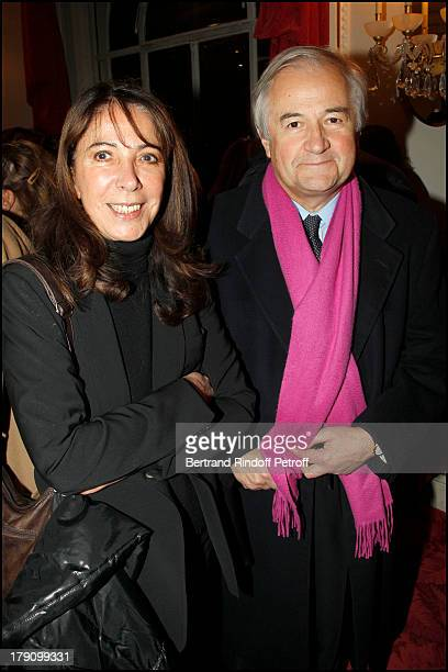 Jacques Maillot and wife Lydie De Sarzens at The Paris Production Hilarmonic Show By Michel Leeb Accompanied By The Paris Symphonic Orchestra At The...