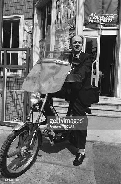 Jacques Maillot Pdg Of 'Nouvelles Frontieres' On November 1st 1987 In ParisFrance
