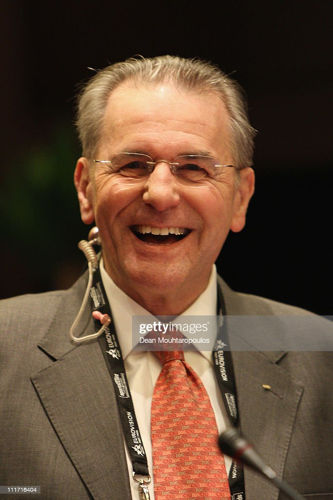 <a gi-track='captionPersonalityLinkClicked' href=/galleries/search?phrase=Jacques+Rogge&family=editorial&specificpeople=206143 ng-click='$event.stopPropagation()'>Jacques Rogge</a>, President of the IOC looks on prior to the IOC Executive Board meetings, held at the Westminster Bridge Park Plaza on April 6, 2011 in London, England.
