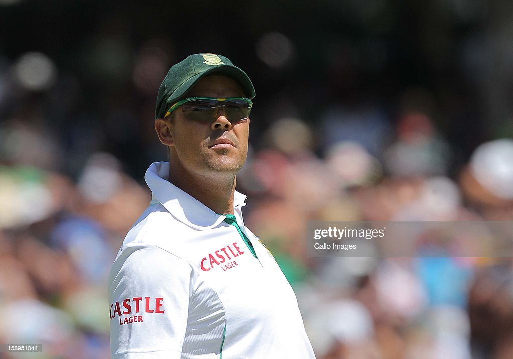 <a gi-track='captionPersonalityLinkClicked' href=/galleries/search?phrase=Jacques+Rudolph&family=editorial&specificpeople=208249 ng-click='$event.stopPropagation()'>Jacques Rudolph</a> of the Proteas during day 3 of the 1st Test between South Africa and New Zealand at Sahara Park Newlands on January 04, 2013 in Cape Town, South Africa.