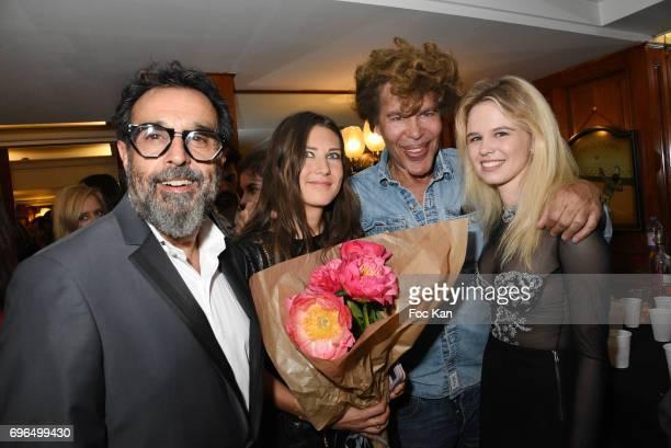 Jacques Samuel Cohen Bacry Marie de Fleurieu Igor Bogdanov and Julie Jardon attend 'Je Voulais Te Dire' Screening Cocktail at Cinema Club13 on June15...
