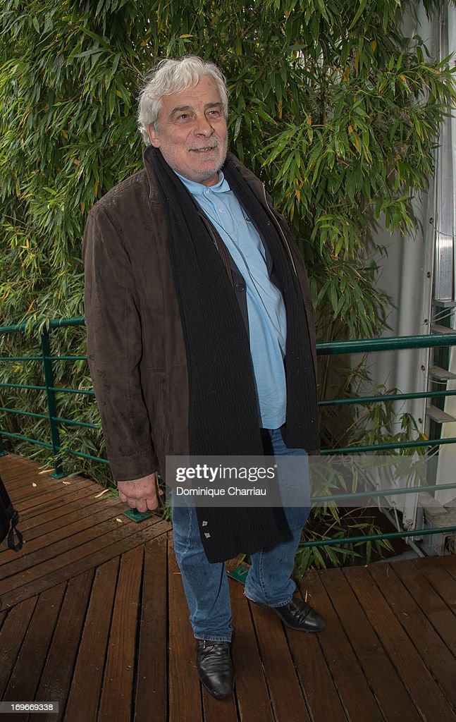 <a gi-track='captionPersonalityLinkClicked' href=/galleries/search?phrase=Jacques+Weber&family=editorial&specificpeople=672880 ng-click='$event.stopPropagation()'>Jacques Weber</a> sightings At French Open 2013 at Roland Garros on May 30, 2013 in Paris, France.