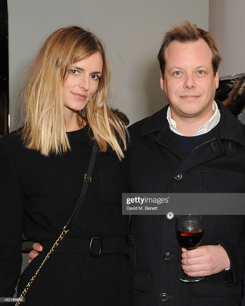 <a gi-track='captionPersonalityLinkClicked' href=/galleries/search?phrase=Jacquetta+Wheeler&family=editorial&specificpeople=213646 ng-click='$event.stopPropagation()'>Jacquetta Wheeler</a> and Jamie Allsopp attend A Winter's Evening With Hockley hosted by Alice Naylor-Leyland and Katie Readman to preview the Autumn/Winter 2013-2014 collection at the Hockley Conduit Street store on November 26, 2013 in London, England.