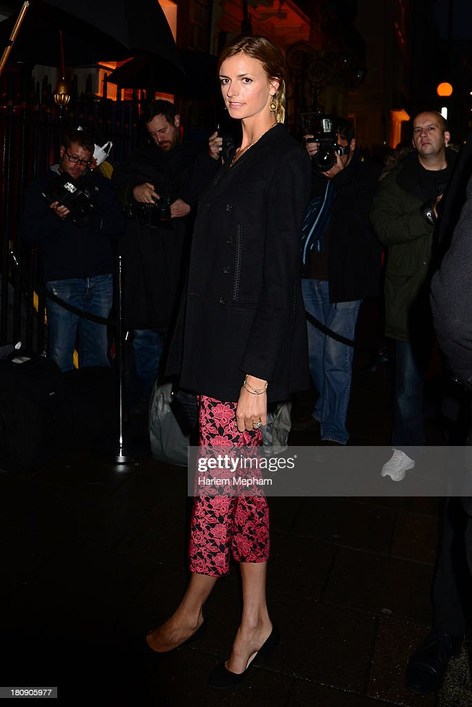 <a gi-track='captionPersonalityLinkClicked' href=/galleries/search?phrase=Jacquetta+Wheeler&family=editorial&specificpeople=213646 ng-click='$event.stopPropagation()'>Jacquetta Wheeler</a> arrives at Annabels for LFW Closing party on September 17, 2013 in London, England.
