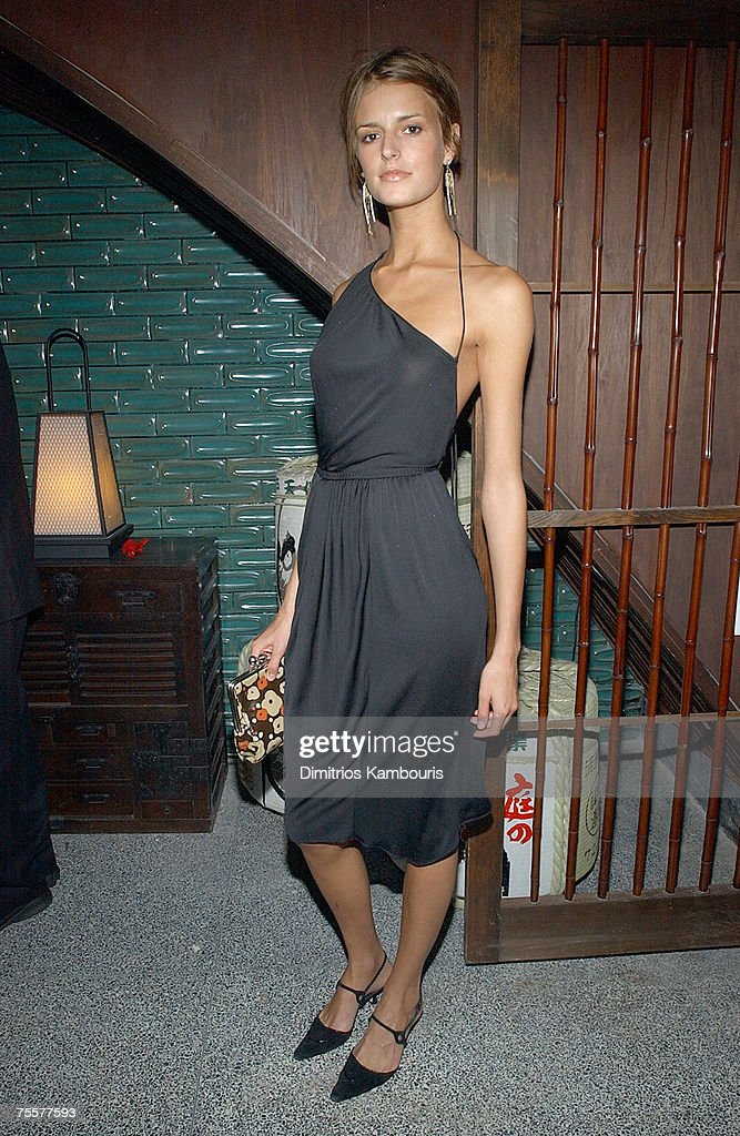Jacquetta Wheeler at the W Magazine party for Kate Moss