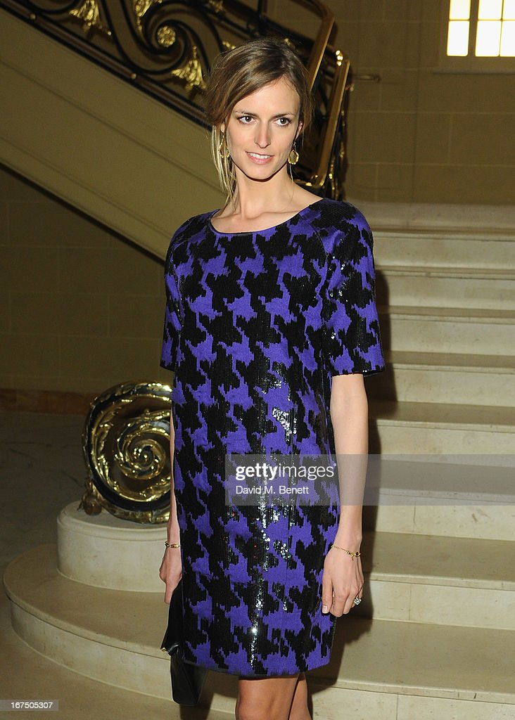 Jacquetta Wheeler attends the Alexandra Shulman and Vogue Dinner in Honour of Michael Kors at the Cafe Royal on April 25, 2013 in London, England.