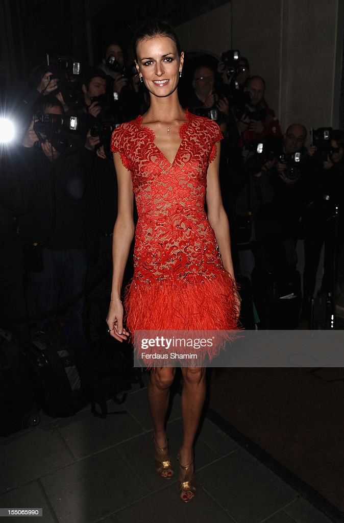 Jacquetta Wheeler attends the Harper's Bazaar Woman of the Year Awards at Claridge's Hotel on October 31, 2012 in London, England.