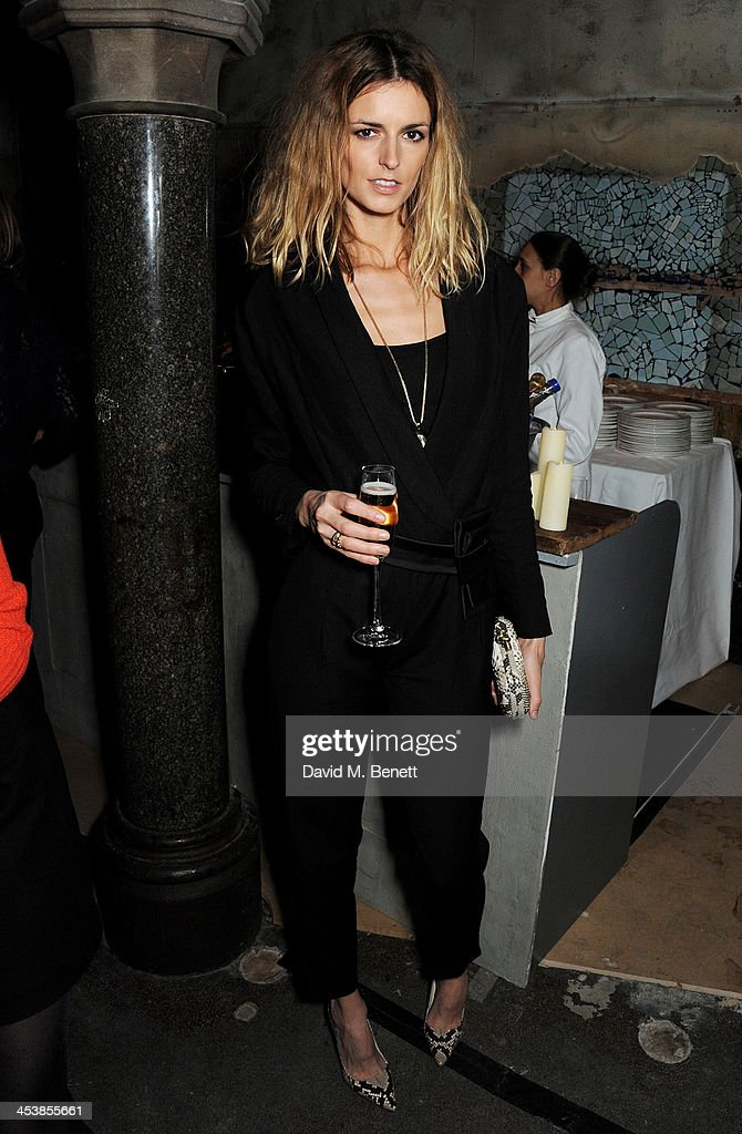 <a gi-track='captionPersonalityLinkClicked' href=/galleries/search?phrase=Jacquetta+Wheeler&family=editorial&specificpeople=213646 ng-click='$event.stopPropagation()'>Jacquetta Wheeler</a> attends the Isabel Marant London dinner and party on December 5, 2013 in London, United Kingdom.