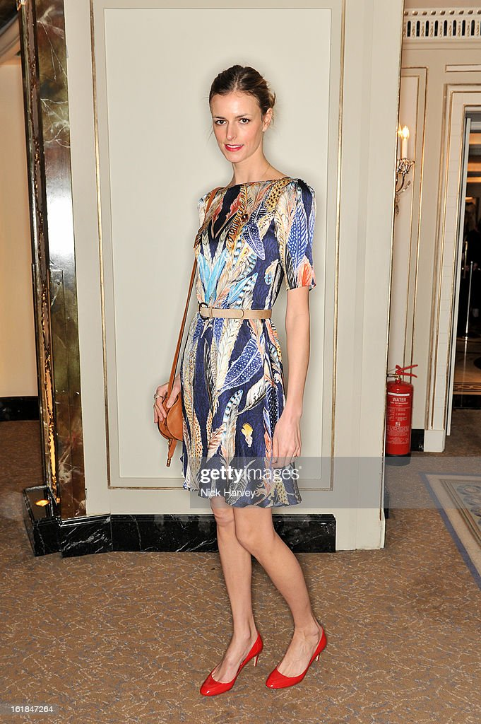 <a gi-track='captionPersonalityLinkClicked' href=/galleries/search?phrase=Jacquetta+Wheeler&family=editorial&specificpeople=213646 ng-click='$event.stopPropagation()'>Jacquetta Wheeler</a> attends the Temperley London show during London Fashion Week Fall/Winter 2013/14 at the Dorchester Hotel on February 17, 2013 in London, England.