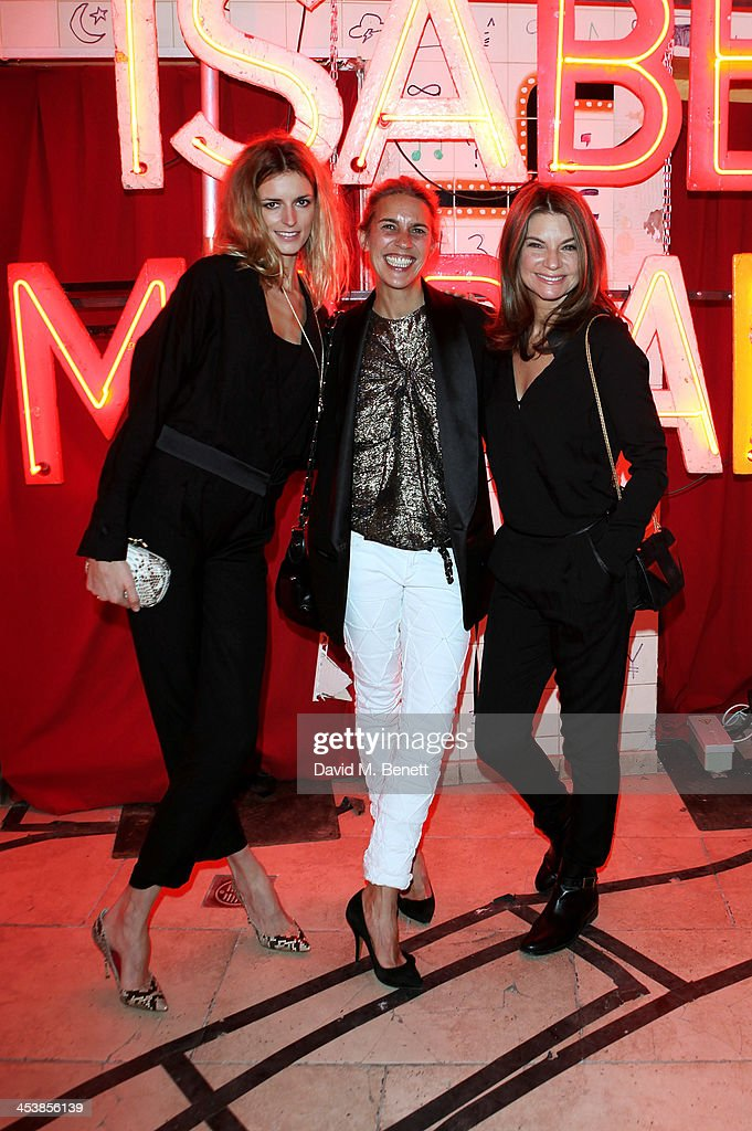 <a gi-track='captionPersonalityLinkClicked' href=/galleries/search?phrase=Jacquetta+Wheeler&family=editorial&specificpeople=213646 ng-click='$event.stopPropagation()'>Jacquetta Wheeler</a>, Isabel Marant and <a gi-track='captionPersonalityLinkClicked' href=/galleries/search?phrase=Natalie+Massenet&family=editorial&specificpeople=2118990 ng-click='$event.stopPropagation()'>Natalie Massenet</a> attend the Isabel Marant London dinner and party on December 5, 2013 in London, United Kingdom.
