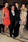 Jacquetta Wheeler Stephen Jones L'Wren Scott and Yasmin Le Bon attend the Harper's Bazaar Women of the Year Awards 2012 in association with Estee...