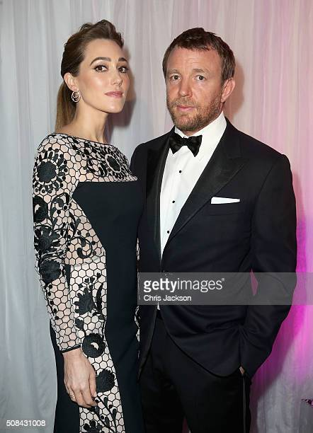 Jacqui Ainsley and Guy Ritchie attend a predinner reception for the Prince's Trust Invest in Futures Gala Dinner at The Old Billingsgate on February...