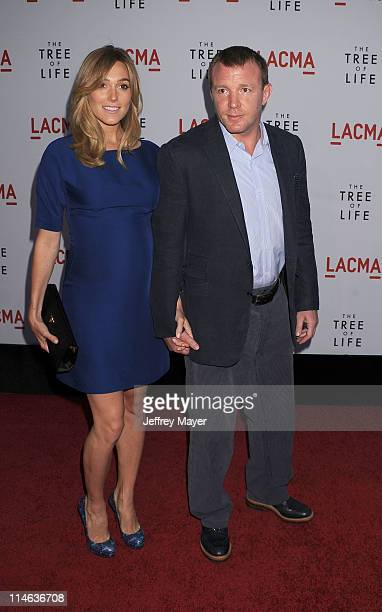 Jacqui Ainsley and Guy Ritchie attend 'The Tree Of Life' Los Angeles Premiere at the Bing Theatre in the Los Angeles County Museum of Art 'The Tree...