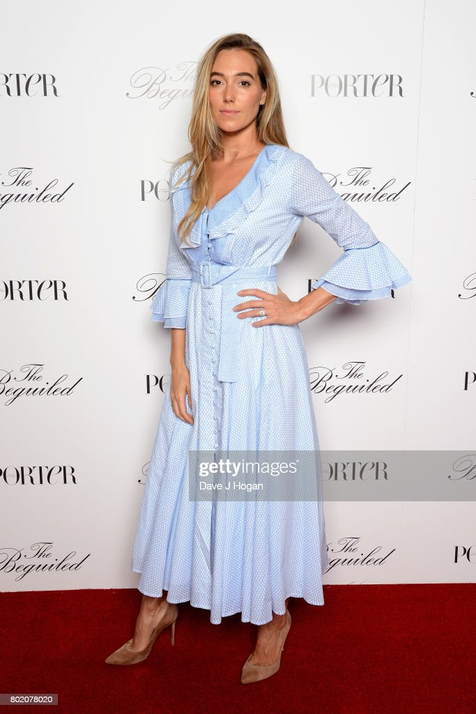 Jacqui Ainsley attends the screening of 'The Beguiled' at Picturehouse Central on June 27, 2017 in London, England.