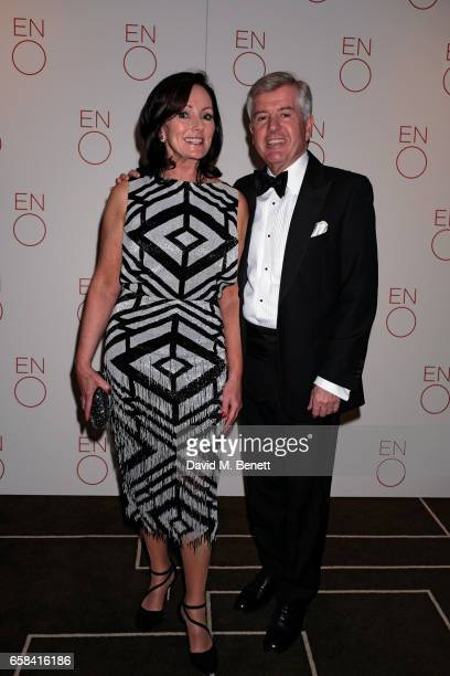 Jacqui Brunjes and Harry Brunjes attend the English National Opera Spring Gala 2017 at Rosewood London on March 27 2017 in London England