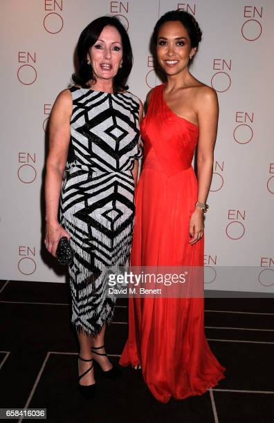 Jacqui Brunjes and Myleene Klass attend the English National Opera Spring Gala 2017 at Rosewood London on March 27 2017 in London England