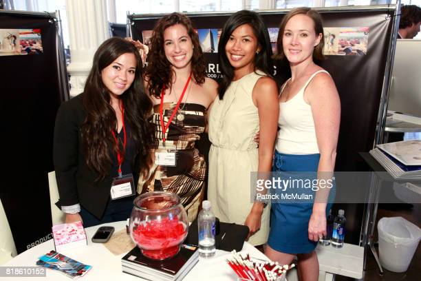 Jacqui Cikra Lily Engles Elisa Chacon and Kara Kyes attend PRODUCTIONS LE BOOK Day 4 at Puck Building on June 18 2010 in New York City