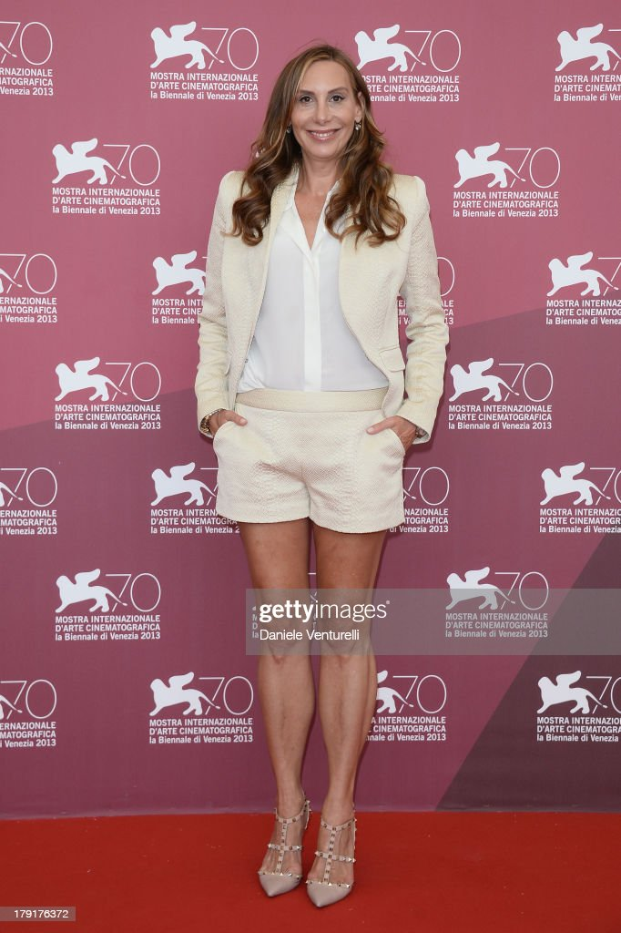 <a gi-track='captionPersonalityLinkClicked' href=/galleries/search?phrase=Jacqui+Getty&family=editorial&specificpeople=2092629 ng-click='$event.stopPropagation()'>Jacqui Getty</a> attends 'Palo Alto' Photocall during the 70th Venice International Film Festival at Palazzo del Casino on September 1, 2013 in Venice, Italy.