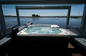 Jacuzzi by the beach.