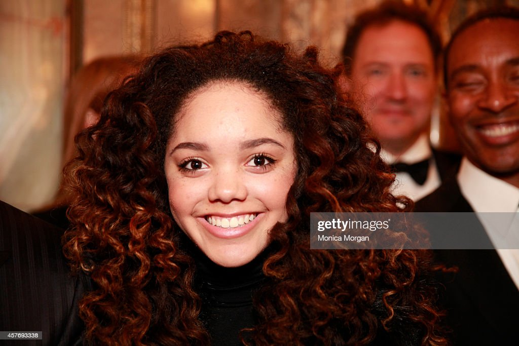 Jada Grace attends the opening night of 'Motown The Musical' at The Fisher Theatre on October 22 2014 in Detroit Michigan