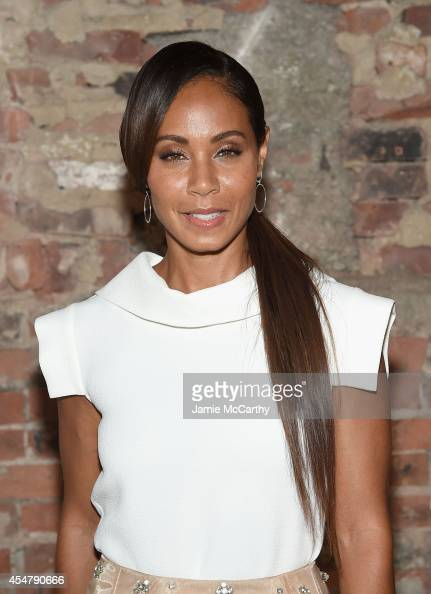 Jada Pinket Smith attends Christian Siriano during MercedesBenz Fashion Week Spring 2015 at Eyebeam Atelier on September 6 2014 in New York City