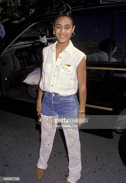 Jada Pinkett during 11th Annual Celebrity Day at McClaren Hall at The home of Henry Winkler in Toluca Lake California United States