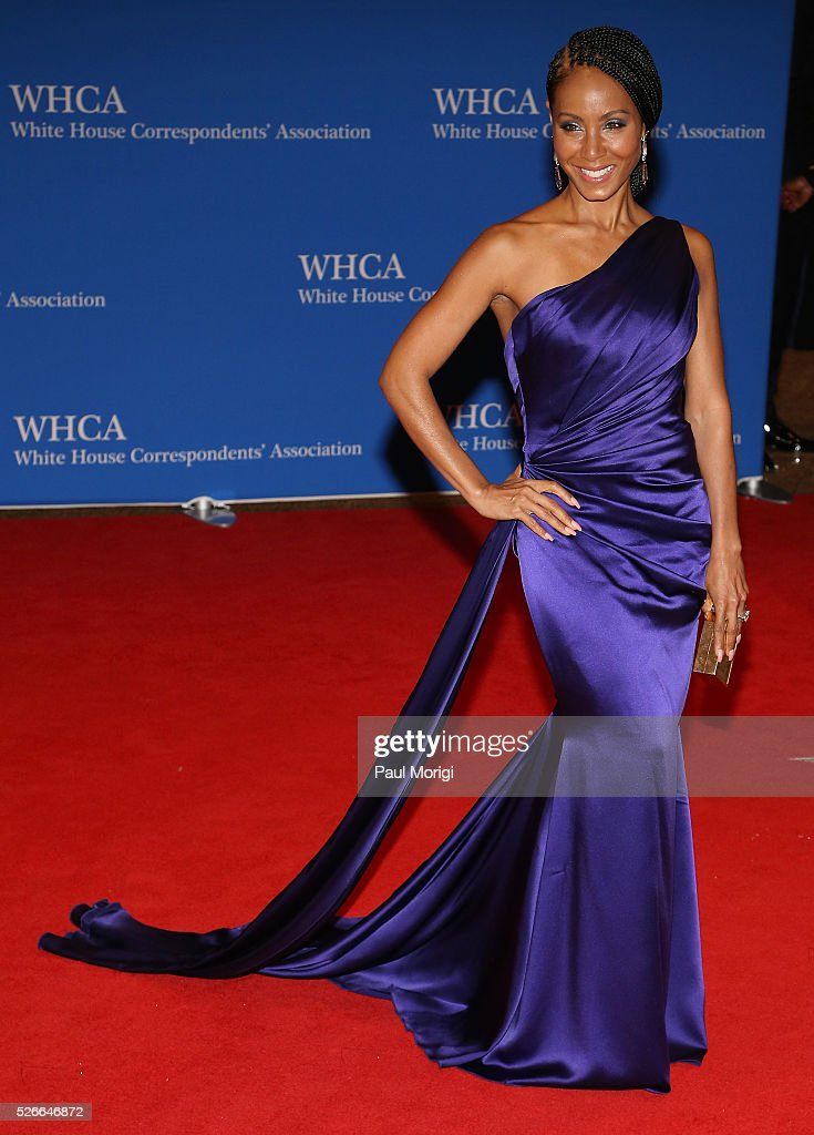 Jada Pinkett Smith attends the 102nd White House Correspondents' Association Dinner on April 30, 2016 in Washington, DC.