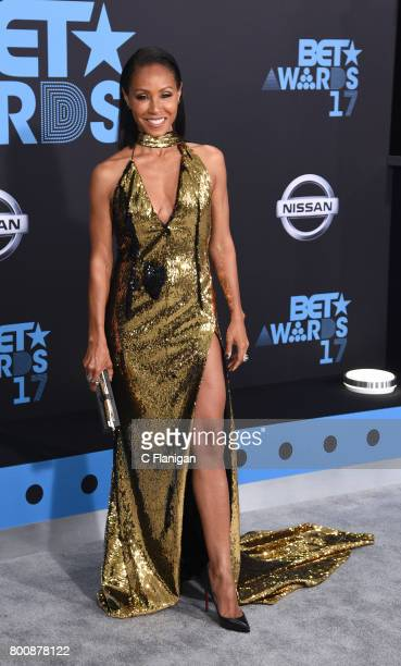 Jada Pinkett Smith attends the 2017 BET Awards at Microsoft Square on June 25 2017 in Los Angeles California