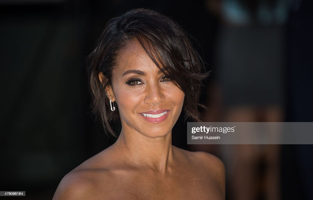 Jada Pinkett Smith attends the European Premiere of 'Magic Mike XXL' at Vue West End on June 30, 2015 in London, England.