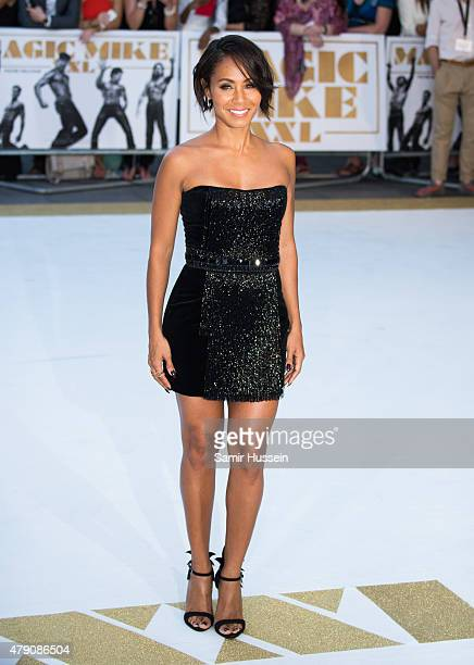 Jada Pinkett Smith attends the European Premiere of 'Magic Mike XXL' at Vue West End on June 30 2015 in London England