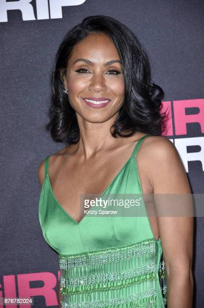 Jada Pinkett Smith attends the Girls Trip Paris Premiere at UGC Cine Cite Bercy on November 20 2017 in Paris France