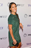 Jada Pinkett Smith attends the GOTHAM Panel At PaleyFest NY on October 18 2014 in New York City