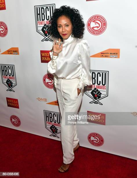 Jada Pinkett Smith attends The HBCU Power Awards at Morehouse College on October 20 2017 in Atlanta Georgia