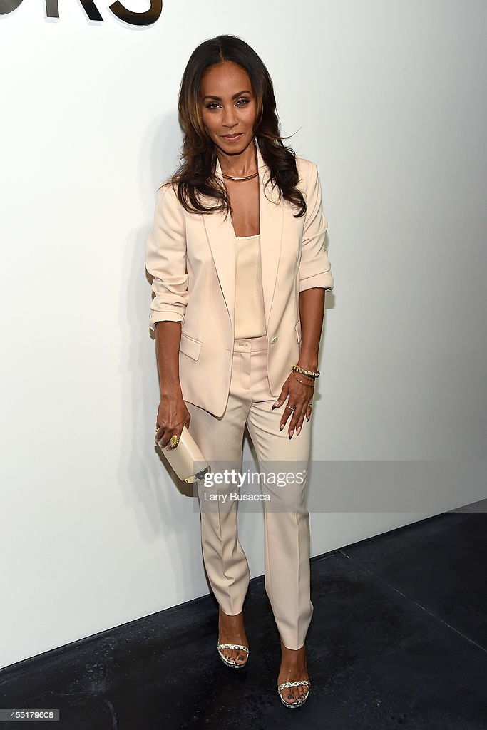 Jada Pinkett Smith attends the Michael Kors fashion show during MercedesBenz Fashion Week Spring 2015 at Spring Studios on September 10 2014 in New...