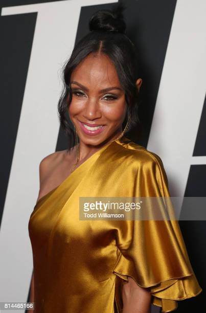 Jada Pinkett Smith attends the Premiere Of Universal Pictures' 'Girls Trip' at Regal LA Live Stadium 14 on July 13 2017 in Los Angeles California