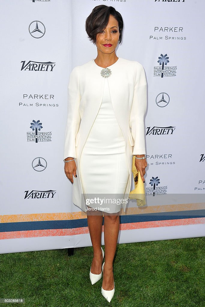 Jada Pinkett Smith attends Variety's Creative Impact Awards and 10 Directors To Watch Brunch at the Parker Palm Springs on January 3, 2016 in Palm Springs, California.