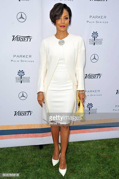 Jada Pinkett Smith attends Variety's Creative Impact Awards and 10 Directors To Watch Brunch at the Parker Palm Springs on January 3 2016 in Palm...