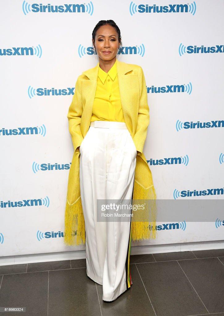 Jada Pinkett Smith during Hoda Kotb Hosts A Leading Ladies Event With Jada Pinkett Smith For SiriusXM Today Show Radio at SiriusXM Studios on July 19, 2017 in New York City.
